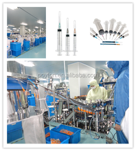 Medical disposable syringe set assembly machine