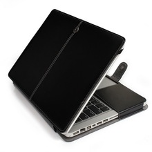 Leather Sleeve Case for MacBook Pro 13 inch A1278, Luxurious Leather Case for Pro 13