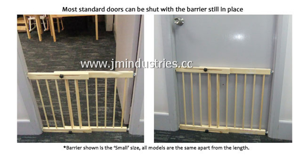 Extendable Baby Door Barriers Safety Gate