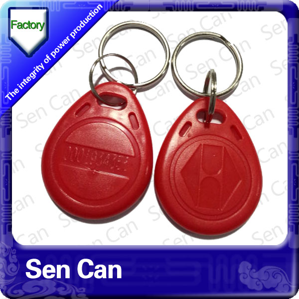 GYMS/CLUB Passive RFID Keyfobs
