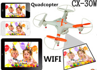 CX30 wifi vs Syma X5C Quadcopter 30w Camera Aerial Photography Drones 2.4G 6 Axis GYRO HD Camera RTF RC Helicopter with Camera