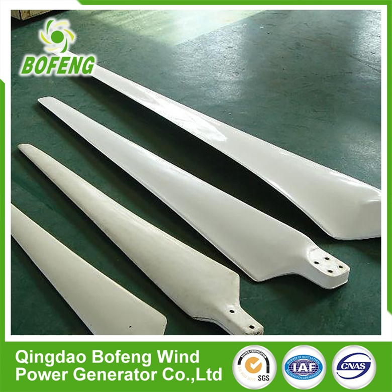 Small Horizontal 3pcs Wind Turbine Blades For Sale