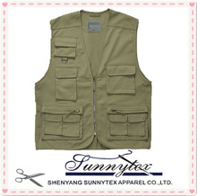 Multipockets summer fishing vest 5xl