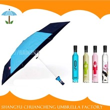 Fashionable Style Wine Bottle Umbrella