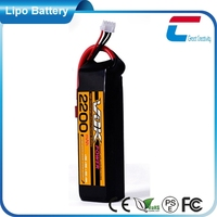 7.4V 2200mAh 2cell 35C rc helicopter and car lipo batteries pack indoor