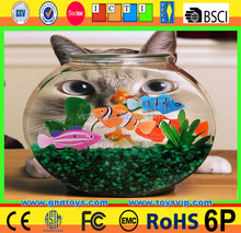 Battery Powered Plastic swimming moving Robo Fish Toy