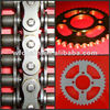 motorcycle roller chains with straight side plates