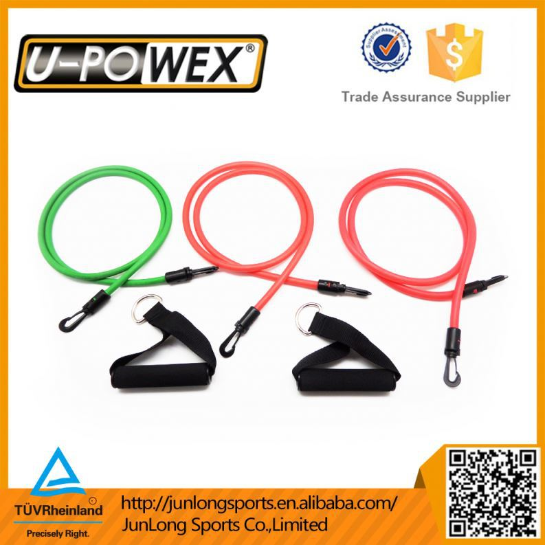 Latex Tubetube expander , resistance bands set , Crossfit resistance bands dipped latex tube