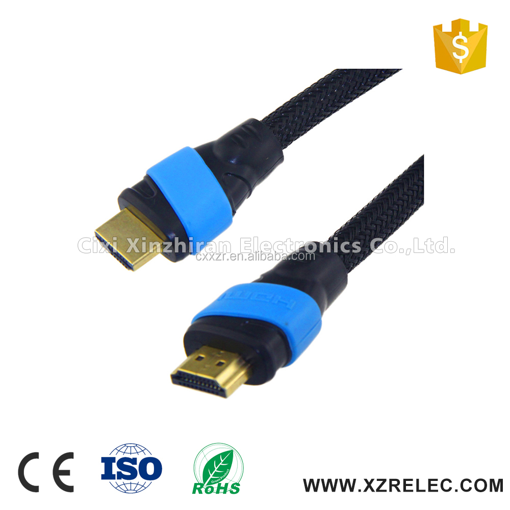 High speed M/M 1.4v hdmi cable with etherent for computer