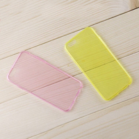 0.45 mm ultra-thin cheap colorful tpu mobile phone cover case for vivo
