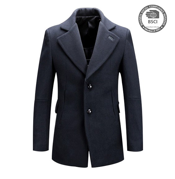 2017 Spring Fashion Coat OEM Jacket European Style Jackets For Men Wool Coat
