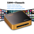 The Newest Hot seller Tiger-Z400-iptv online tv box with 1 year IPTV for free with 18+ channels free internet tv box