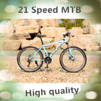 2015 new product steel MTB bike/bicycle/bicicle with Shimano 21 speed Alibaba China,Chinese supplier