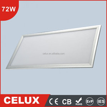 Hot CB CE Approved 72w dimmable 600x1200 led panel light