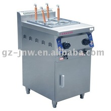 LC_QZML_4(DJS) gas four burner noodle cooker with foot for restaurant kitchen equipemt passed ISO9001