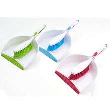 Household cleaning popular item plastic dustpan and broom set broom dustpan brush set