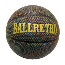 Smileboy manufacturer wholesales cheaper price mixed color pu leather BALLRETRO outdoor official custom basketball ball