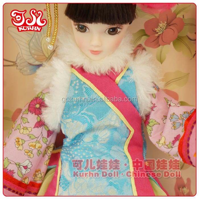 11.5 inch new arriveral Chinese doll vinyl doll for gift & collection