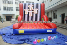 inflatable MAGIC TAPE wall for kids and adults fun,commercial inflatable sticky wall