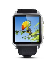 2015 touch panel bluetooth smart watch phone with sim card slot