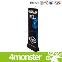 Wholesale tension outdoor advertising banner metal display stand