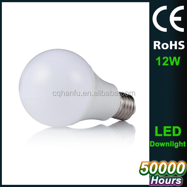 Low cost 12w E27 2700k-7000k led light bulb , led bulb lighting
