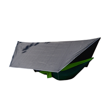 Traveling Backpacking Hammock Rain Fly Tent Tarp For Outdoor Hiking