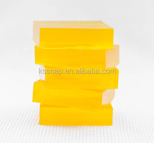 Transparent glycerin Soap as whiting soap For Moisturizing Face and Body
