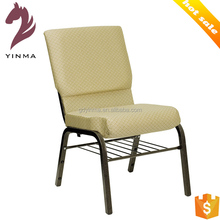 2016 New design stacking church auditorium chairs