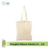 No printing blank canvas tote bag wholesale ALD513
