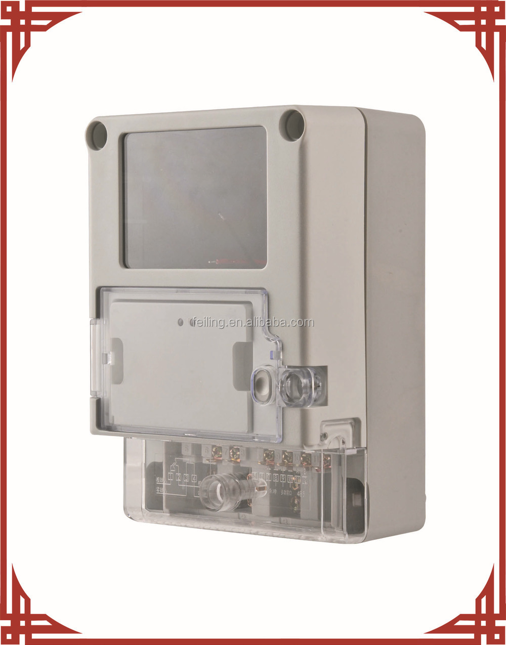 outdoor electric meter box DDSF-2060-3 Single-phase casings for electronics