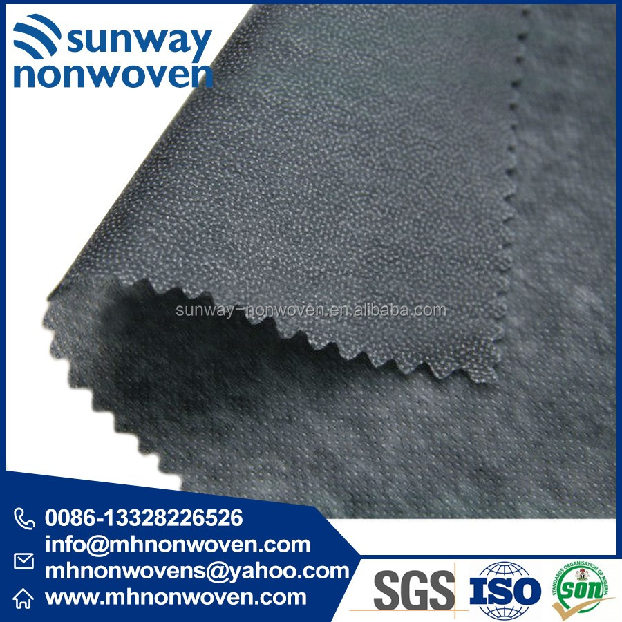 gum stay of embroidery backing buckram NON WOVEN INTERLINING 1000F 1025HF