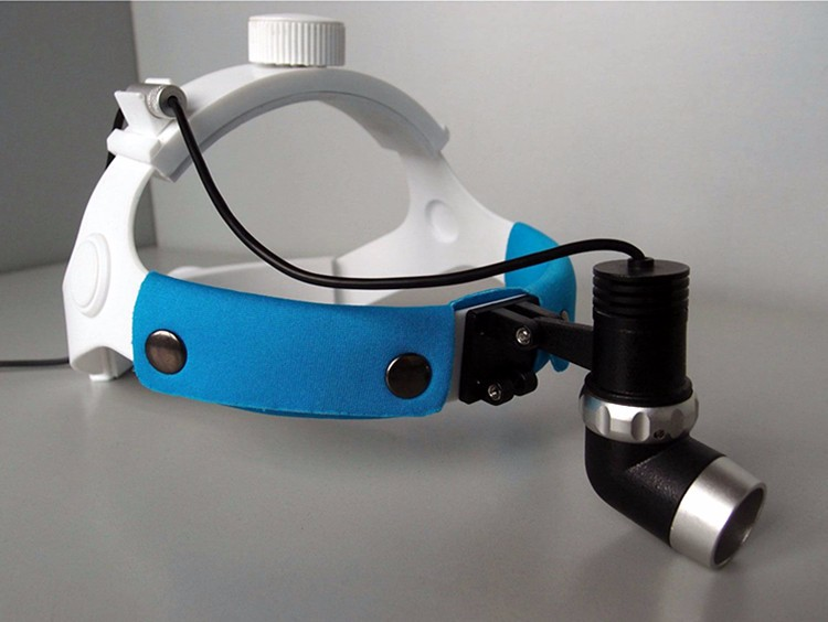 New Portable Headlamp LED Headlight JD2000II Headband for Partial Lighting in Surgery or Wilderness Medical Treatment