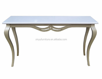 Luxury french style hotel wood console table XY0812