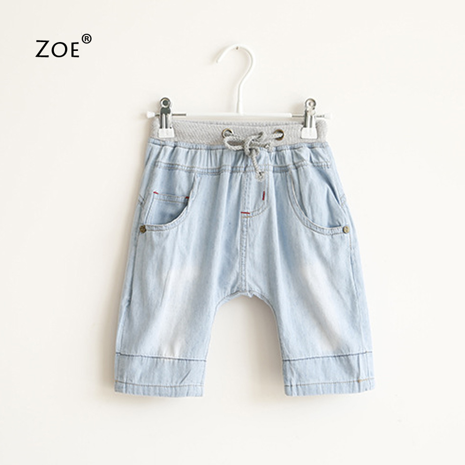Retail High quality summer style boy harem pants baby jeans for boys children jeans casual kids denim pants 3-7Y toddler clothes