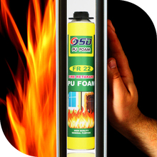 flame Proof water proof foam sealant large expansion PU Polyurethane foam sealant