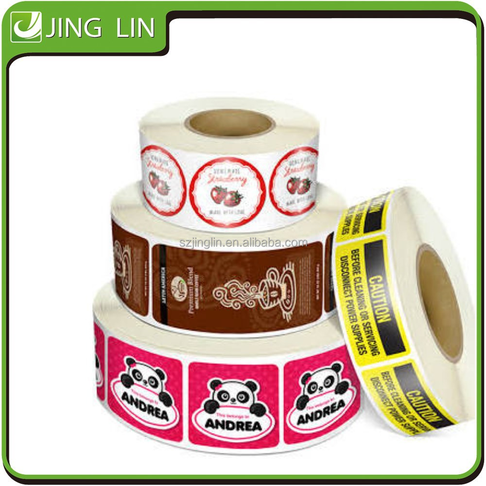 High quality full colour roll label printing manufacturer