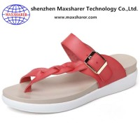 China Wholesales Sandals Women Pu Slippers
