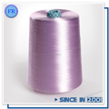 Free sample 100% dyed raw spun polyester thread for sewing