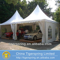 Portable event pagoda tent