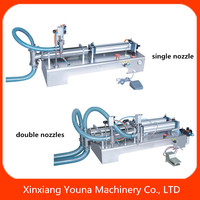 pneumatic manual filling machine water/liquid/oil/juice