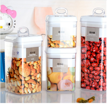 Premium Food Storage Container, BPA-free Plastic Canisters For Dry Food