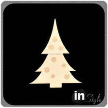 Wooden Christmas Tree Shapes Decoration Tag Wooden Wedding Party Embellishments Tag Art Crafts