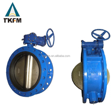 Good quality dn standard 48 inch renewable seat wafer butterfly valve asme