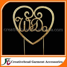 Fashion Wedding Acrylic Gold Plating We Do Cake Topper for Wedding Decoration/Cake Decorating Supplies