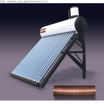 100 200 300 Liters Evacuated Tube Compact Low Pressure Solar Hot Water Heater Price