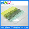 "BHD TPU Silicone Soft Case For iphone 6 iphone6 4.7"" Back Skin Cover Cell Phone Protect ShockProof Bag"