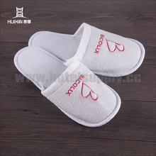 JET-SL-132 One-time wholesale high quality 29cm hotel terry towel slipper