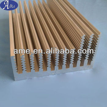 extrusion aluminum welding heat sink
