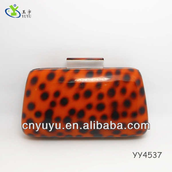Customized Acrylic ladies dinner clutch